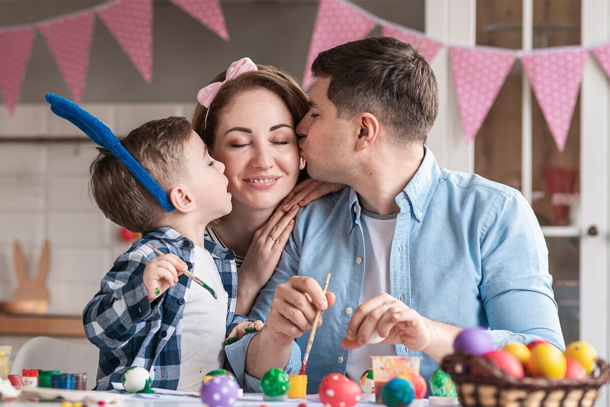 Top 8 Ideas for Easter at Home from Precision Dental